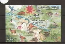 Brazil 1995 SG2724ms Sheet NHM Fauna of the Tiete River Valley-Scarlet Ibex/Stoa