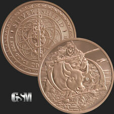 1 oz Copper Round - Inverted Rate Reaper