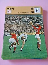 Rugby Up and Under une chandelle Fiche Card 1977