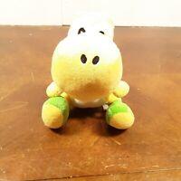 "Nintendo Super Mario Bros. EUC Plush Toy  6"" Yellow Yoshi 2010 Plush FAST SHIP"