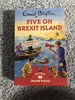Gibsons Five on Brexit Island Jigsaw Puzzle Brand New