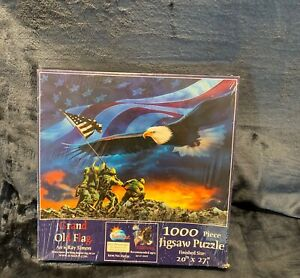 Grand Old Flag Ray Simon 1000 Jigsaw Puzzle NEW Sealed