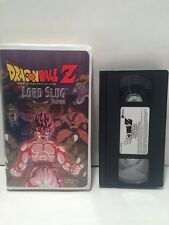 Dragon Ball Z Lord Slug Feature In Clam Shell VHS