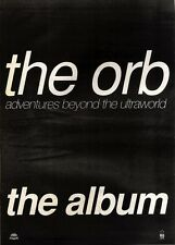 20/4/91 Pgn59 Advert: The Orb Album adventures Beyond The Ultraworld 15x11