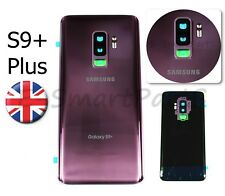 Back Glass Housing Cover Battery Door Replacement For Samsung Galaxy S9+ Purple