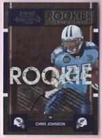CHRIS JOHNSON RC 2008 CONTENDERS ROOKIE AUTO #115 TITANS AUTOGRAPH