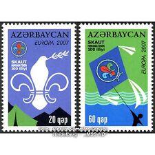 Aserbaidschan Azerbaijan Europa CEPT 2007, Pfadfinder, kmpl. Satz ** postfrisch