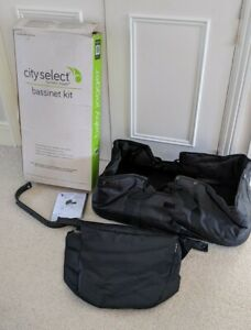 Baby Jogger City Select Carrycot/Bassinet Kit in Black