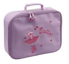 Girls Lilac Ballet Ballerina Dance Hand Vanity Case Bag By Katz Dancewear KB55