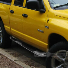 2002-2008 Dodge Ram Quad Cab Side Step Bars S/S Running Board Chrome
