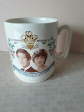 New Devon Pottery July 1981 Prince Charles Lady Diana Wedding Mug Cup