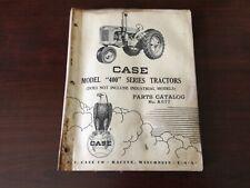 Case Model 400 Series Tractor Parts Catalog