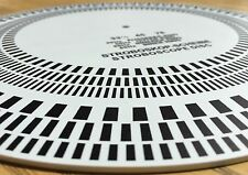 Turntable Strobe Disc Stroboscope mat | Made in USA | Tests 33-1/3 rpm, 45 rpm