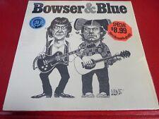 LP vinyl Album Bowser & Blue Selftitled ! Justin Time Canada Records