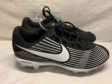 New listing Nike Lunarlon Softball Cleats Women's Size 9 Black White