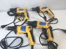 4X DeWalt Corded Hammer Drill DW511 FOR PARTS NOT WORKING