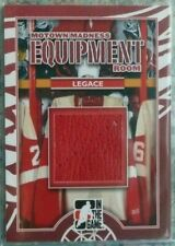 Manny Legace 2012-13 ITG Motown Madness Equipment Room Game-Used Glove Red Wings