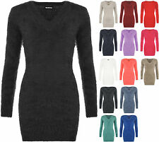 Acrylic Long Regular Size Jumpers & Cardigans for Women