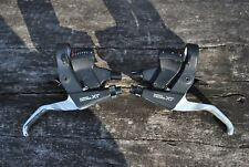 Vintage - SHIMANO DEORE XT ST-M739 - shifting brake levers set left right 3x8S
