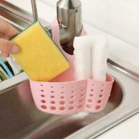 Sink Shelf Soap Sponge Drain Rack Bathroom Holder Kitchen Suction M8K9 Cup P5L9