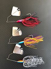 8x Buzzbaits Spinnerbaits 1/2oz Fishing Lures Spinners Bait Buzz Cod Bass Perch