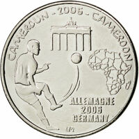Cameroon 1500 CFA francs 2006 UNC Germany Football Championship Cameroun unusual