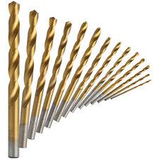 98 Stück 1.5MM-10MM HSS High-Speed Stahl Spiralbohrer titanbeschichtet Set