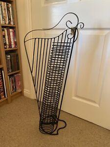Metal Harp CD Rack