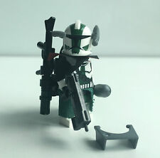 "Lego Star Wars Figur Clone Commander ""Gree"" + TOP Custom Equipment"