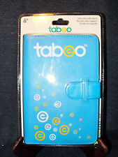 "Tabeo Folio Case & Stand-Blue 7"" Universal Synthetic Leather China NEW in Pack"