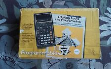 1977 Texas Instruments Programmable TI-57 Calculator ( MUST SEE ) RARE