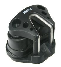 NAUTOS 91182.26 - FAIRLEAD AND SMALL CAM CLEAT - black FAIRLEAD
