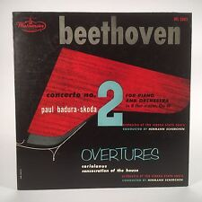 PROMO Beethoven Concerto No. 2 Badura-Skoda. Orig.1954 Westminster WL5302 1A/1A