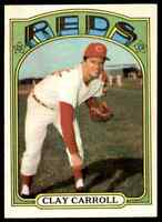 1972 TOPPS CLAY CARROLL #311 NM-MT OR BETTER SET BREAK BLR12P1