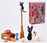 Studio Ghibli Kiki's Delivery Service Black Cat PVC Figure Toy Collectible Cute