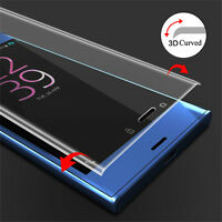 3D Full Cover Tempered Glass Screen Protector For Sony Xperia X / XZ / XA Ultra