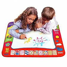 Children Aqua Doodle Drawing Mat Educational Toy 2 Water Drawing Pen 3+ Years