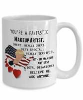 Trump Makeup Artist Mug Funny Coffee Cup For Makeup Artists