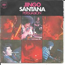 "45 TOURS / 7"" SINGLE--SANTANA--JINGO / PERSUASION"