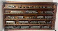 Franklin Mint The World's Greatest Locomotives Pewter Train Set  w/Display Case