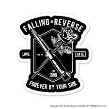 Falling In Reverse Rose Sticker Family Love Gifts Mum Decals Car Bumper