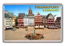 FRANKFURT GERMANY FRIDGE MAGNET SOUVENIR NEW MOD.2 IMÁN NEVERA