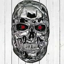 Terminator T-800 Head Embroidered Patch Big for Back Cyberdyne Endoskeleton Face