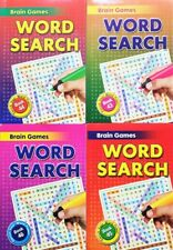 Word search 4 x Brain Games   books ,Enrich Your Word Power - ONE of  BEST !
