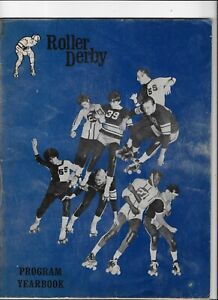 1970 Roller Derby SF & Oakland Bombers Midwest Pioneers Northeast Braves Prgm YB