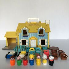 PLAY FAMILY HOUSE FISHER PRICE VINTAGE TOY JOUET 1969 RÉF : 952
