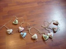 PADDED HEART GARLAND - NEW WITHOUT TAGS