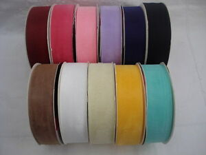 Organza Ribbon, 15mm, 11 Colours, 2-3 Metres
