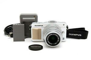 Near Mint Olympus PEN E-PM2 Micro Four Thirds Camera w/14-42mm f3.5-5.6 II 35331