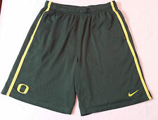 Oregon DUCKS TEAM ISSUED Nike Workout FOOTBALL Gym SHORTS Men's MEDIUM